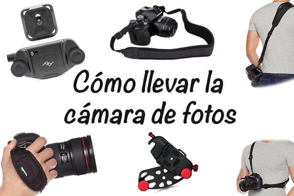 como llevar la camara de fotos reflex