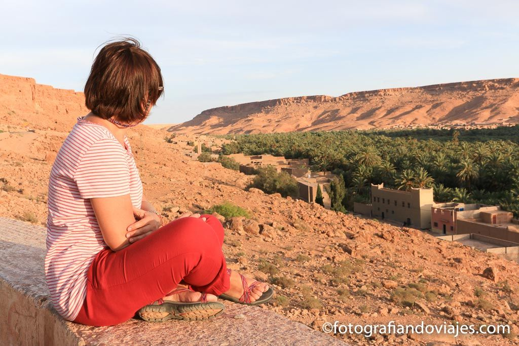 Carretera entre Fez y Merzouga