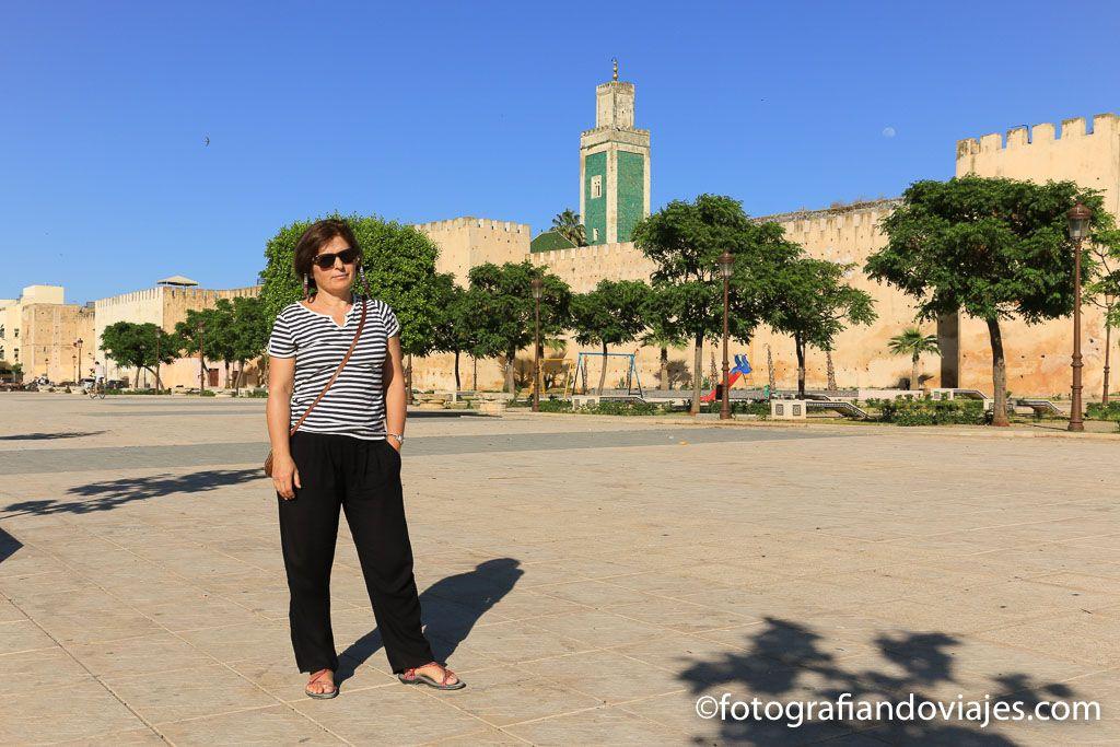 plaza Lalla Aouda aparcamiento