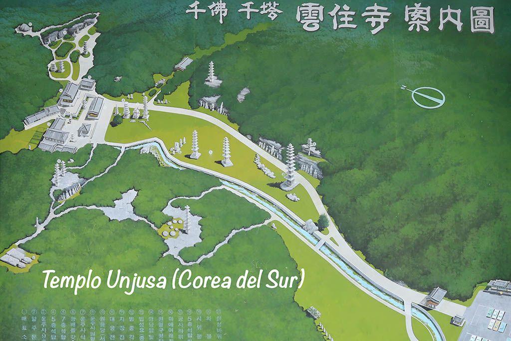 Templo Unjusa plano