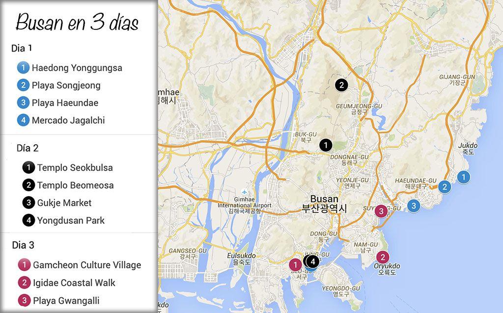 Que ver en Busan en 3 dias