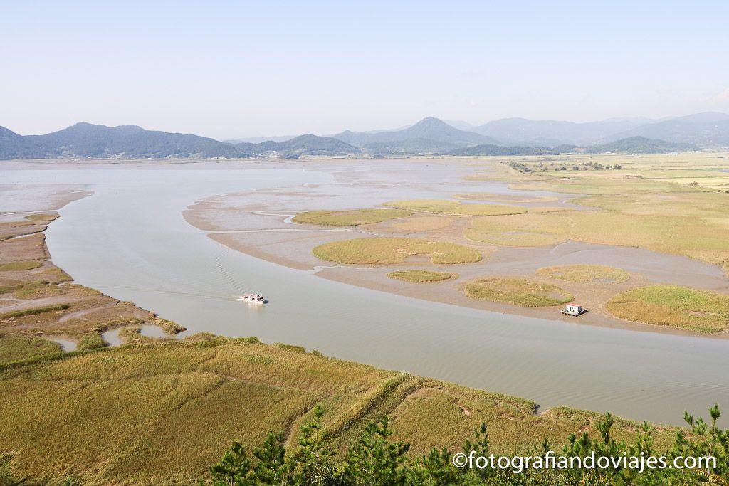 Humedal de la bahia de Suncheon