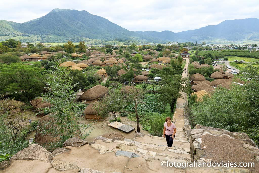 que ver en corea del sur Aldea tradicional Naganeupseong