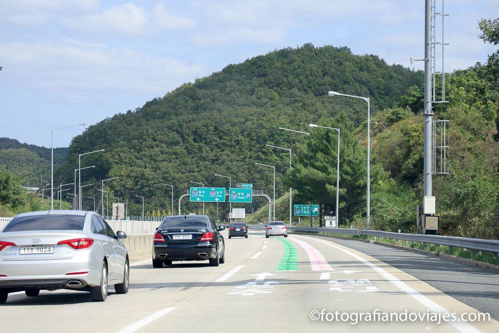 carreteras de corea