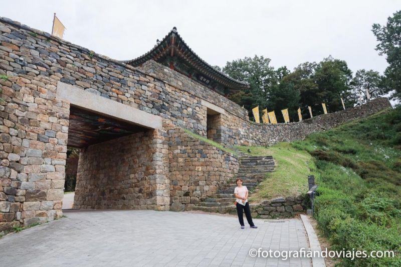 Fortaleza Gongsanseong Gonju