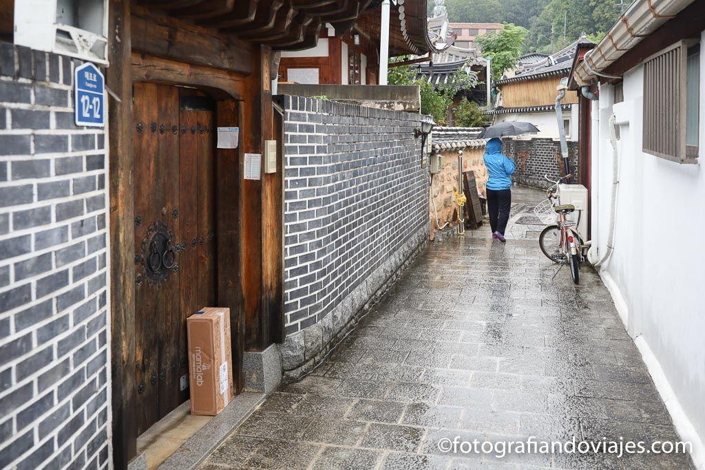 Jeonju Hanok village casas tradicionales