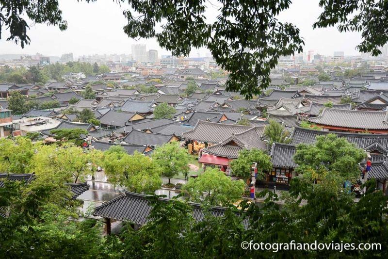 Omokdae Jeonju Hanok village