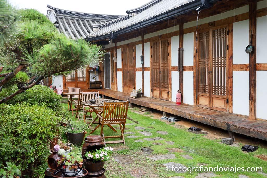 Casa tradicional coreana