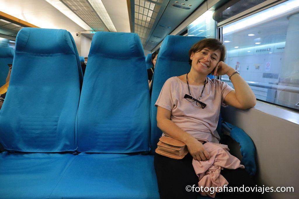 Tren Maglev Shanghai como moverse en metro y tren
