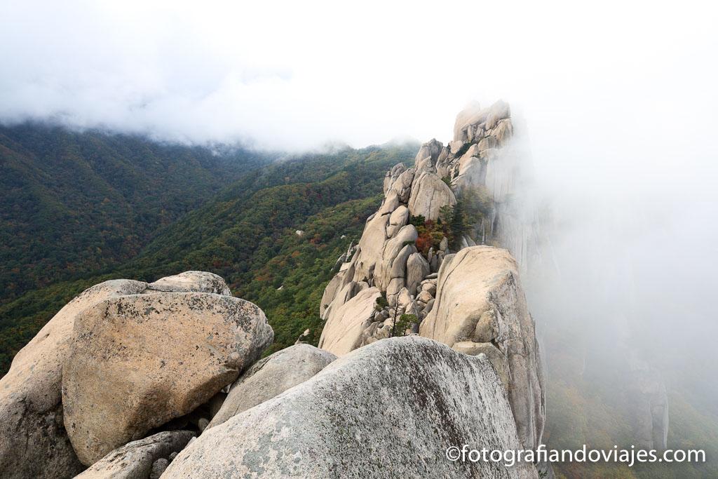 imprescindible que ver en corea del sur Parque Seoraksan
