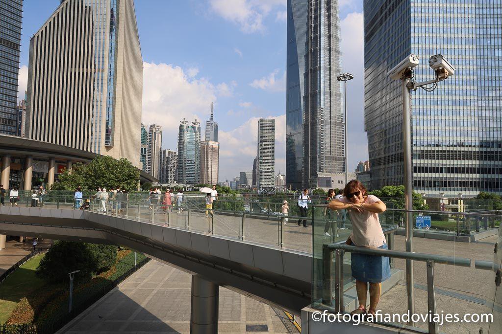 Rascacielos de Pudong Shanghai
