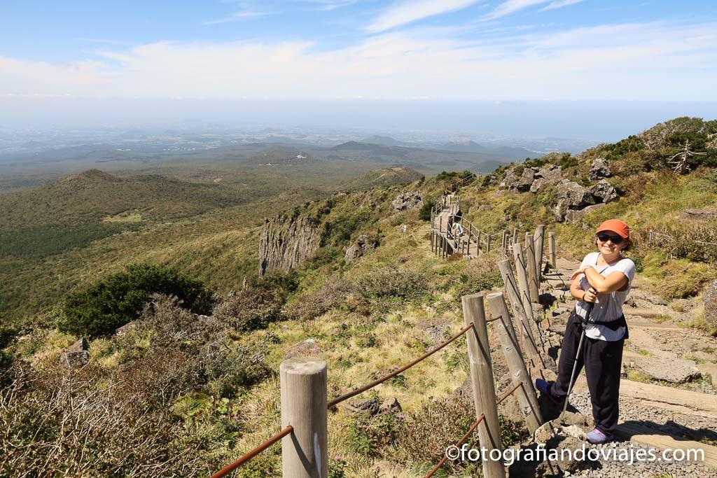 Ruta Yeongsil monte Hallasan isla Jeju