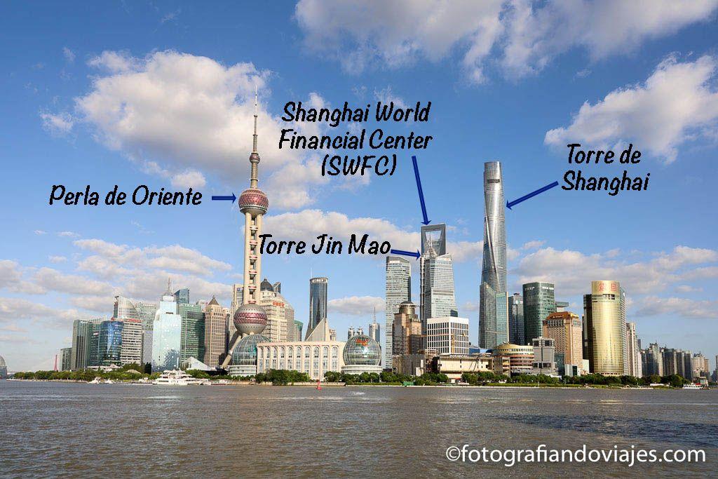 A que rascacielos subir en Shanghai