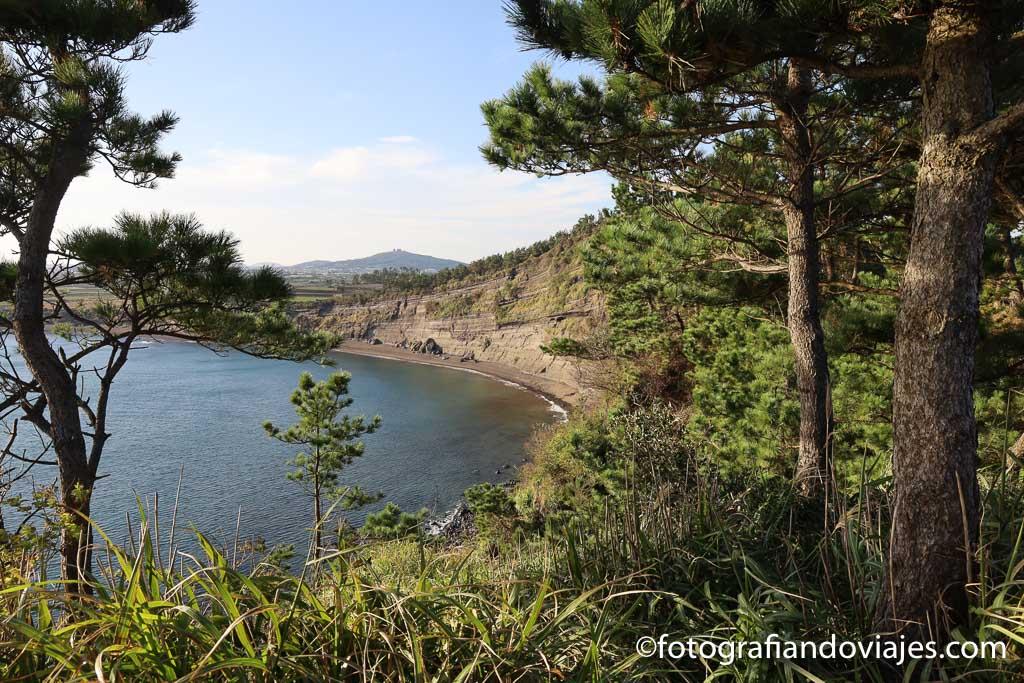 Songaksan que ver en Jeju Corea del Sur