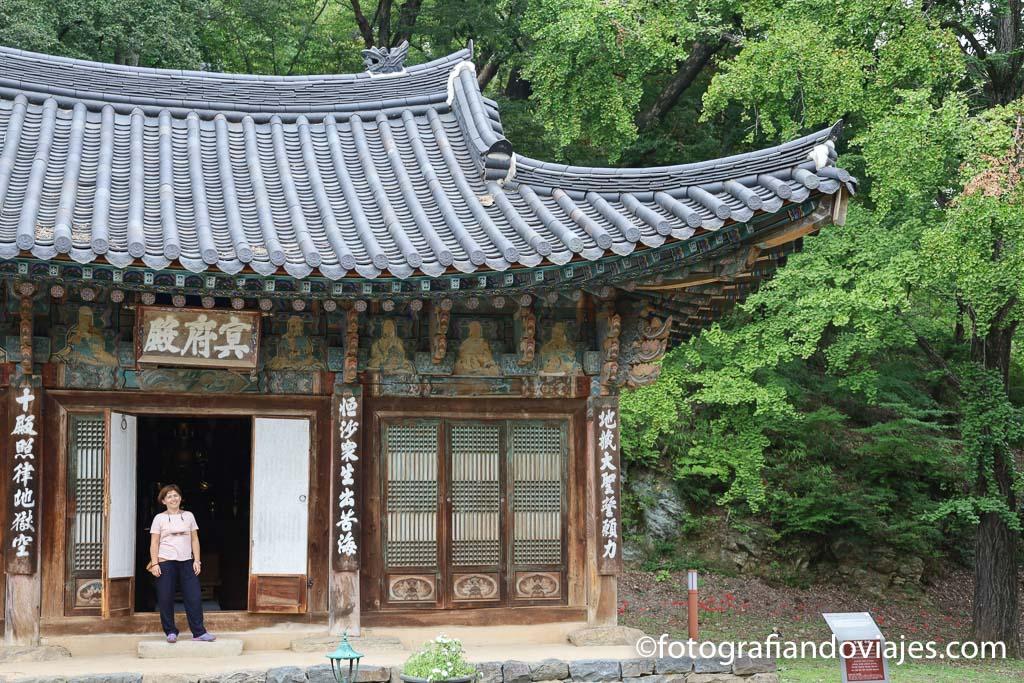 Templo coreano magoksa
