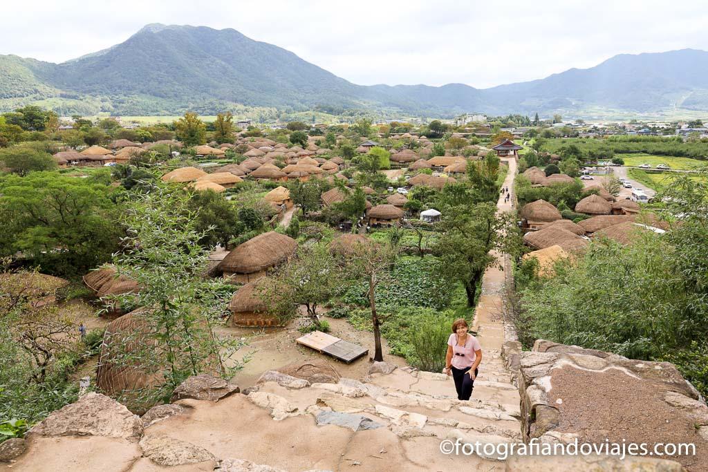 pueblo Naganeupseong en Corea del sur