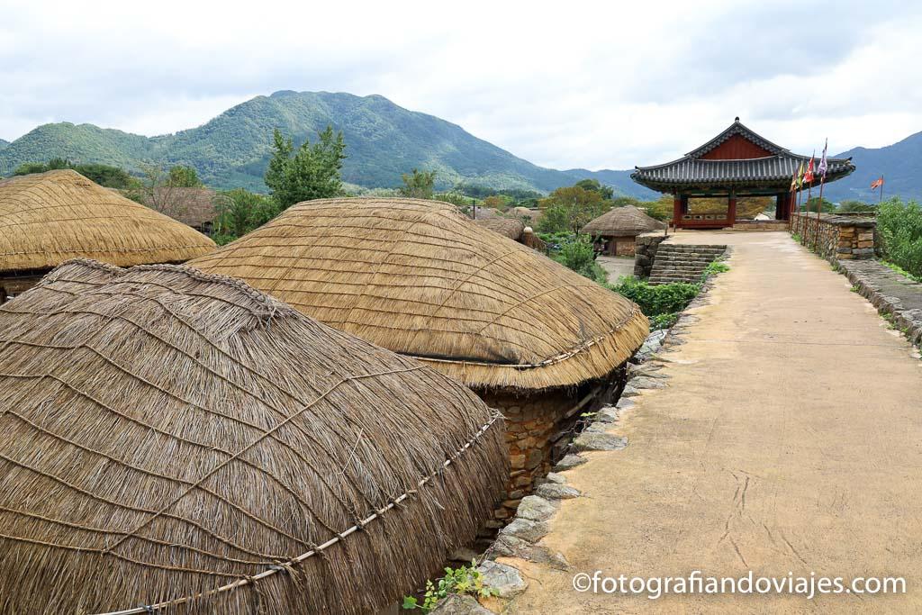 Aldea Naganeupseong Corea del sur