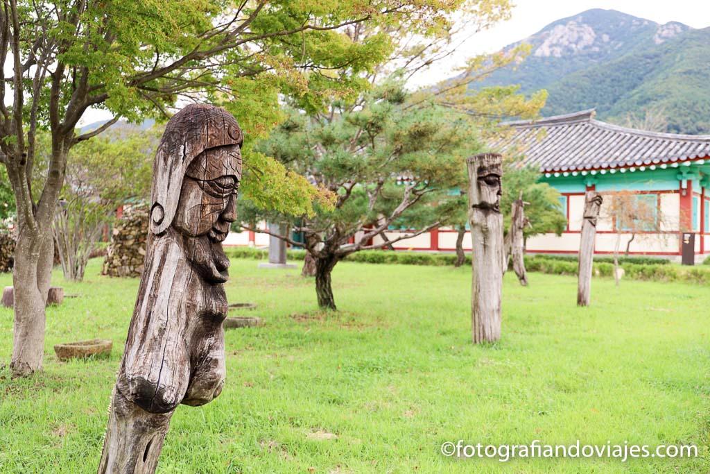 Aldea tradicional Naganeupseong en Suncheon