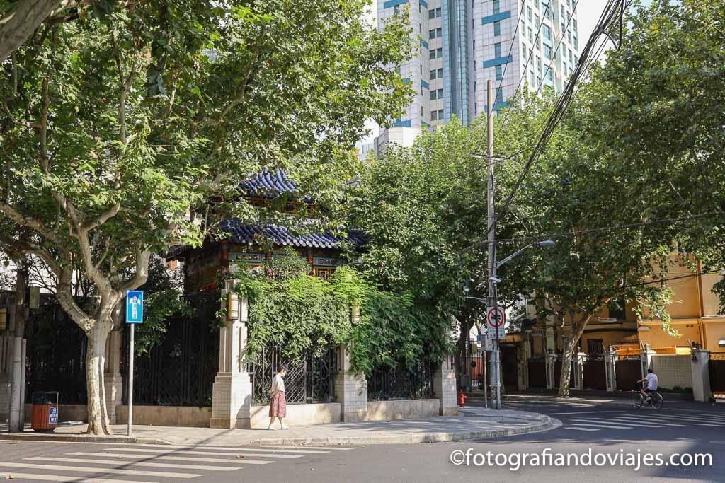 Concesion francesa Shanghai