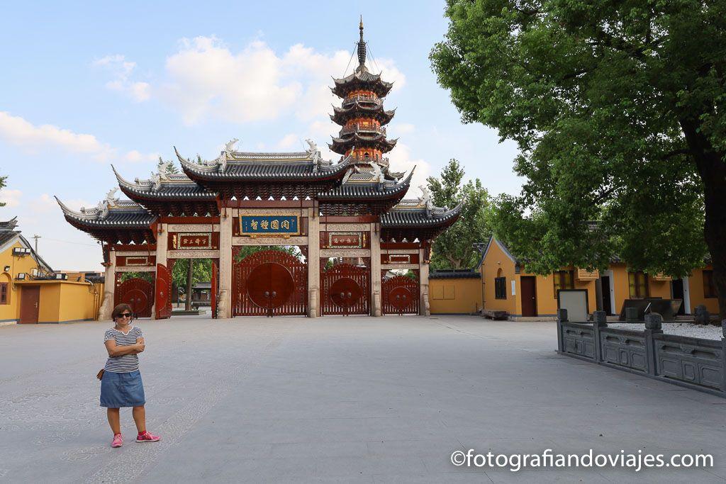 Pagoda octogonal