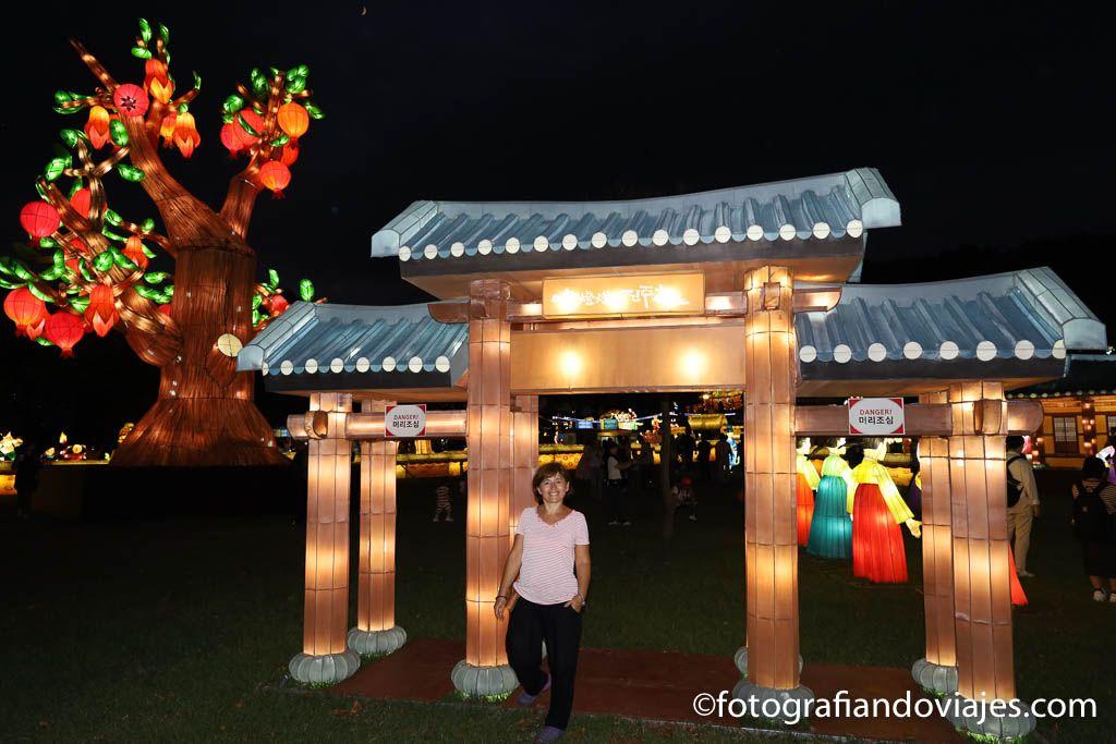 figuras en fiestas de corea del sur
