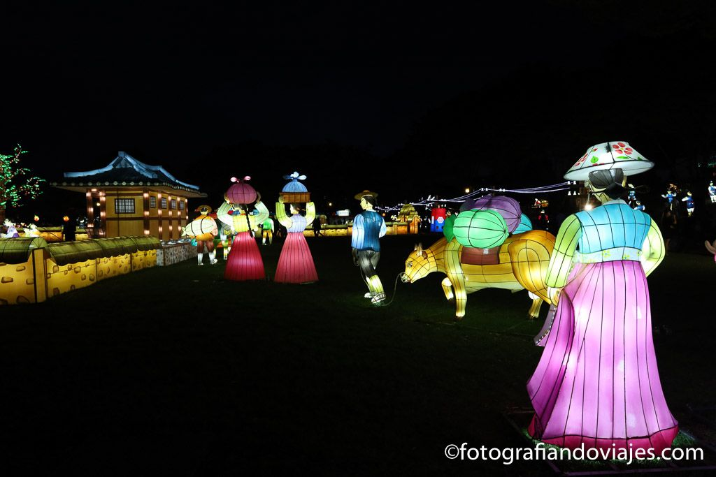 fiesta de los faroles jinju corea del sur