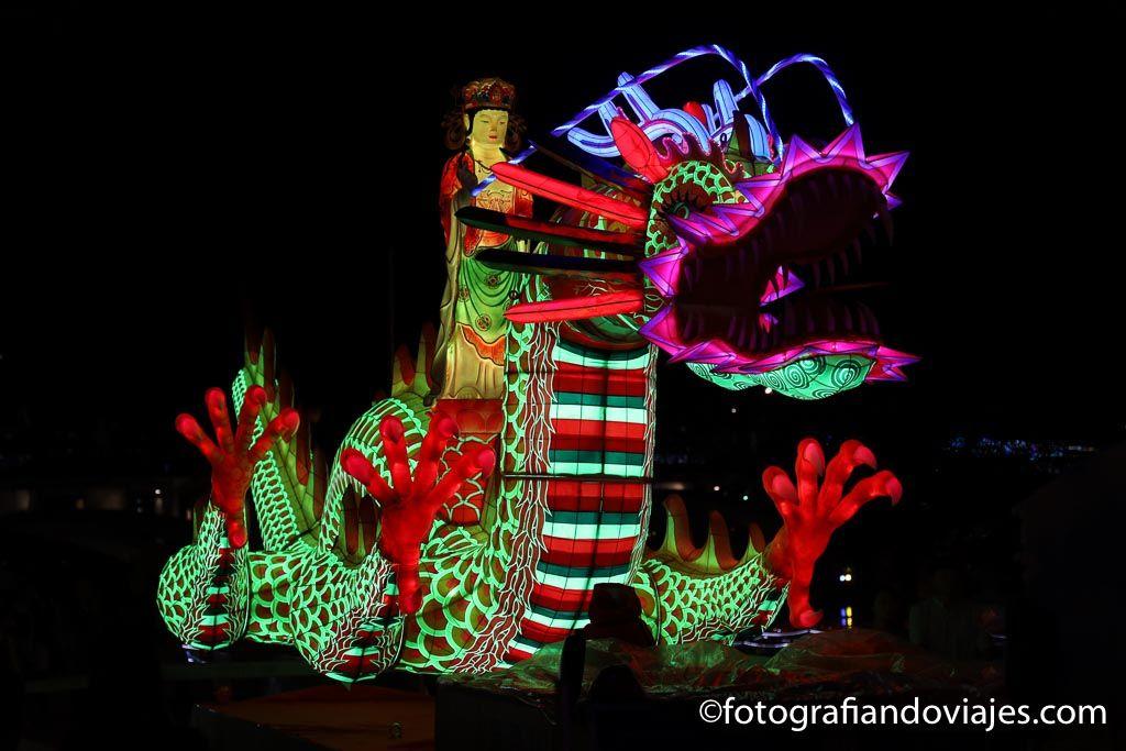 fiesta de linternas jinju corea del sur