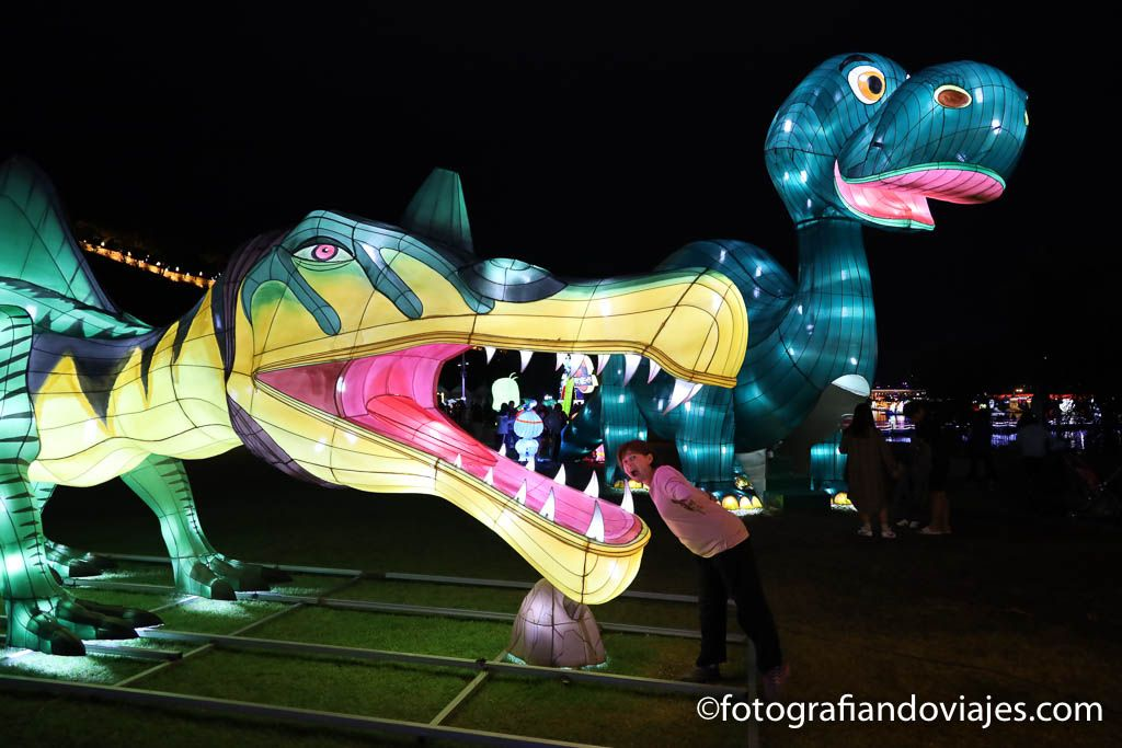 festival faroles Jinju corea del sur