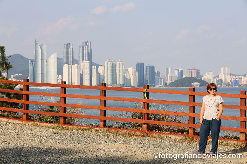 Camino costero parque Igidae Busan Corea del sur