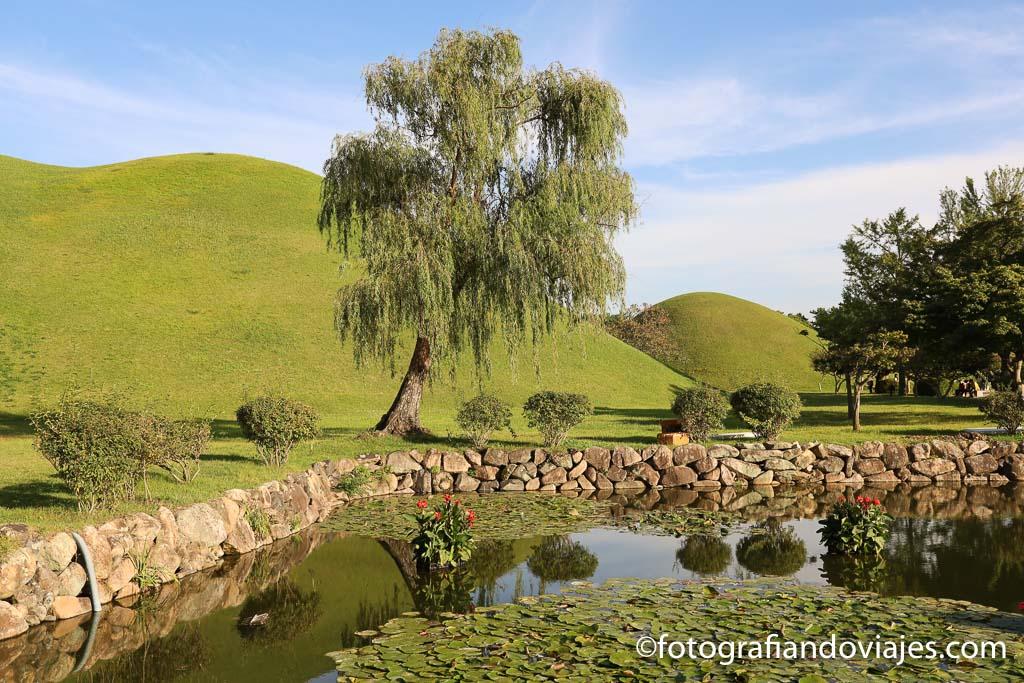 Complejo Daereungwon tumbas reales de Gyeongju