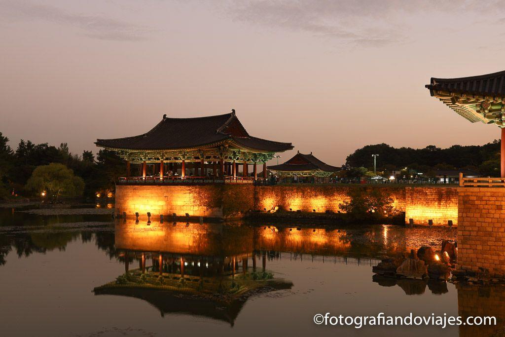 Palacio Donggung y Estanque Wolji o Anapji