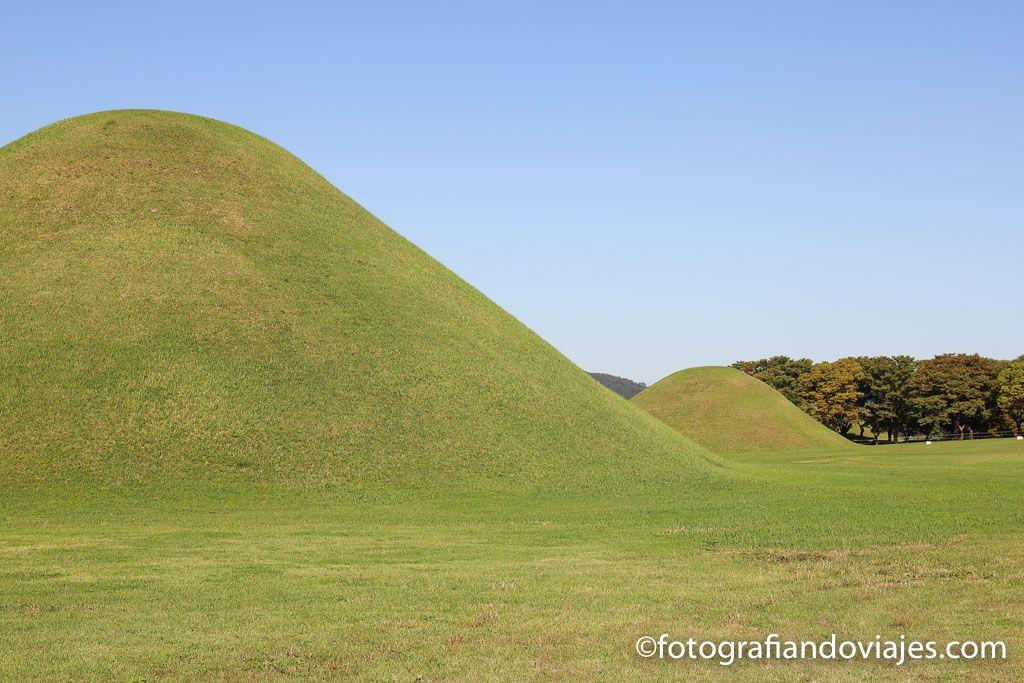 Inwangdong tumbas reales de Gyeonju