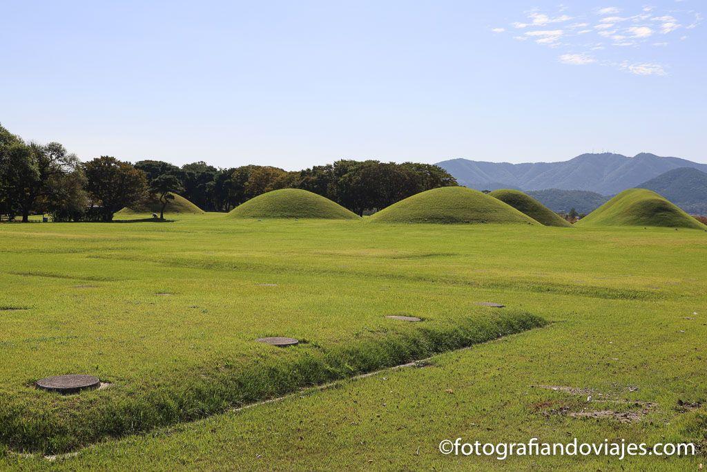 Inwangdong tumbas reales de Gyeongju