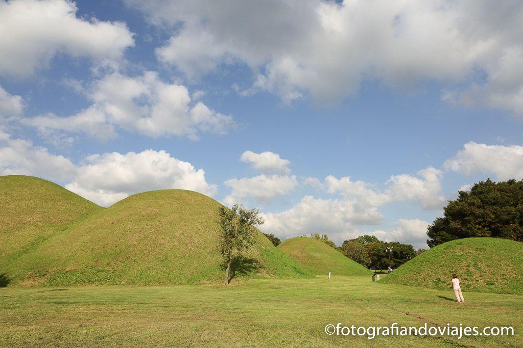 Noseodong tumbas reales de Gyeongju