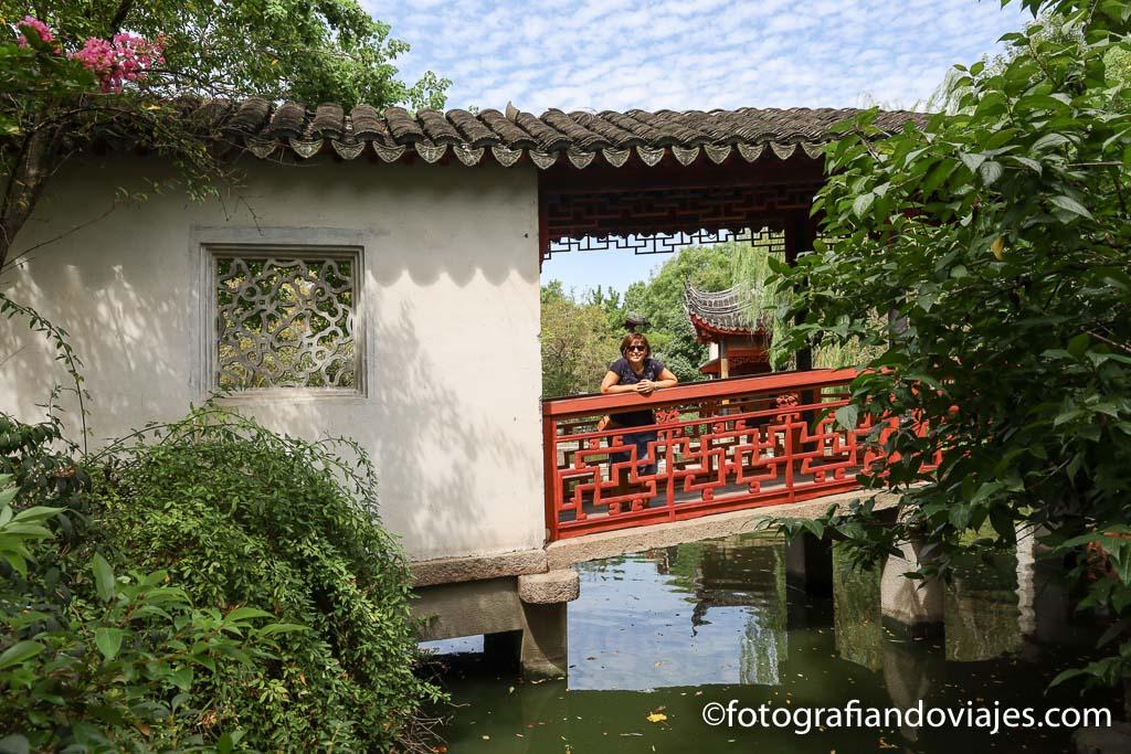 Pearl tower jardin garden Tongli