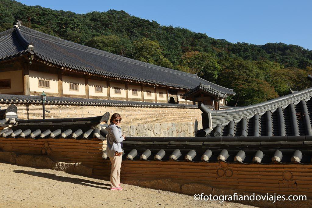 Janggyeong Panjeon tripitaka coreana en templo Haeinsa