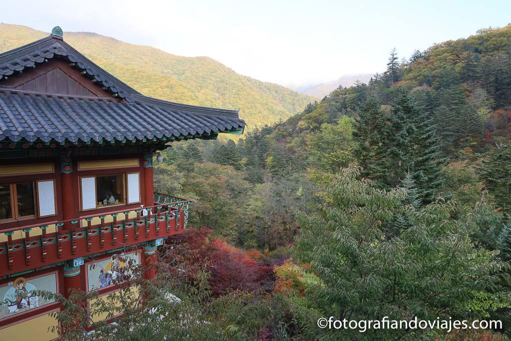 Templo Sangwonsa odaesan corea del sur