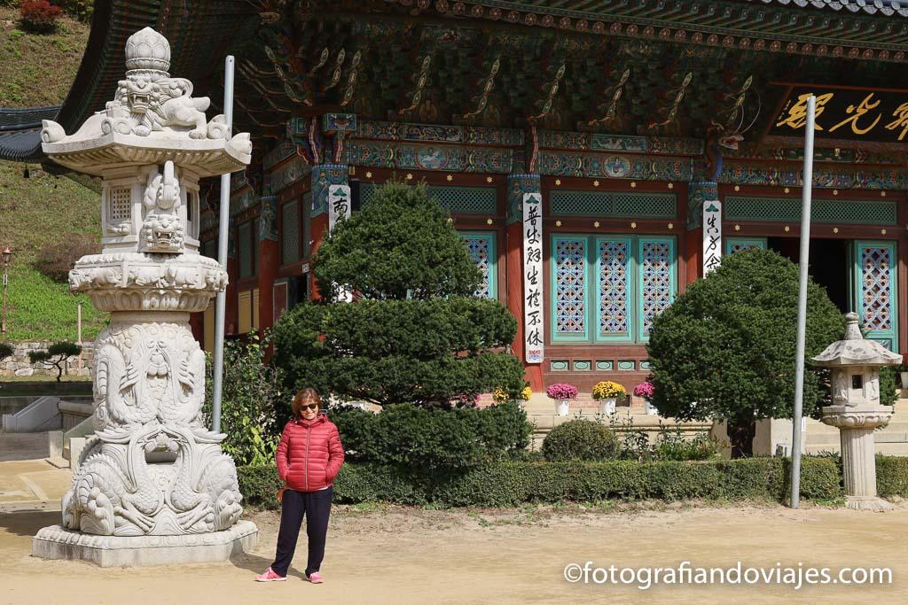 Templo Woljeongsa odaesan corea del sur