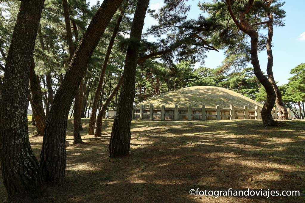 Tumba rey Heondeok Gyeongju