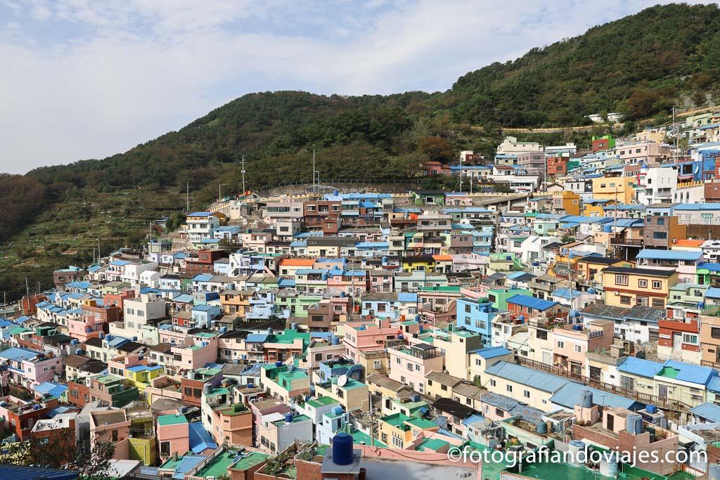 Barrio Gamcheon Busan corea del sur