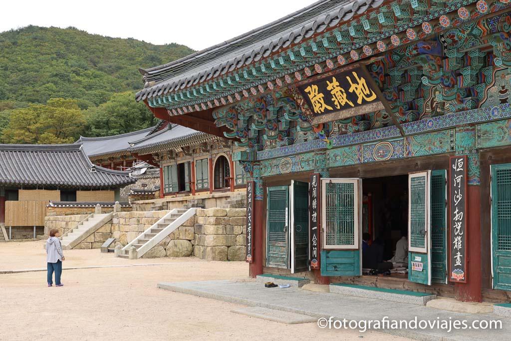 Templo Beomeosa Busan corea del sur