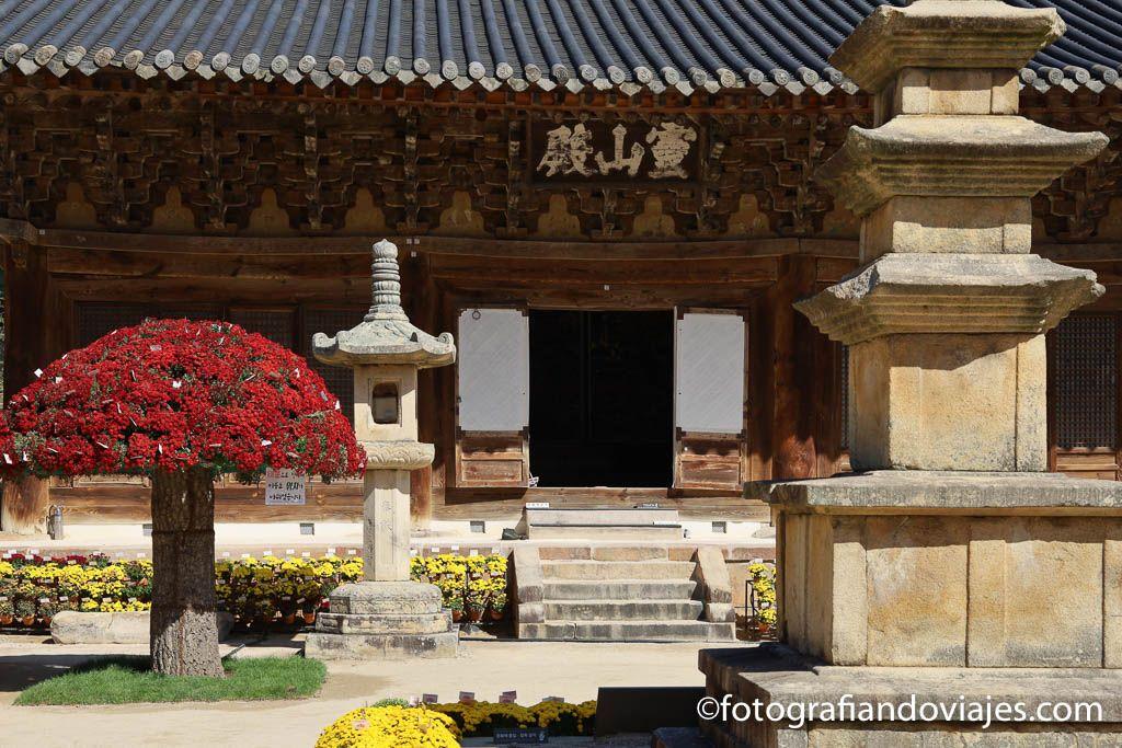 entrada al templo tongdosa