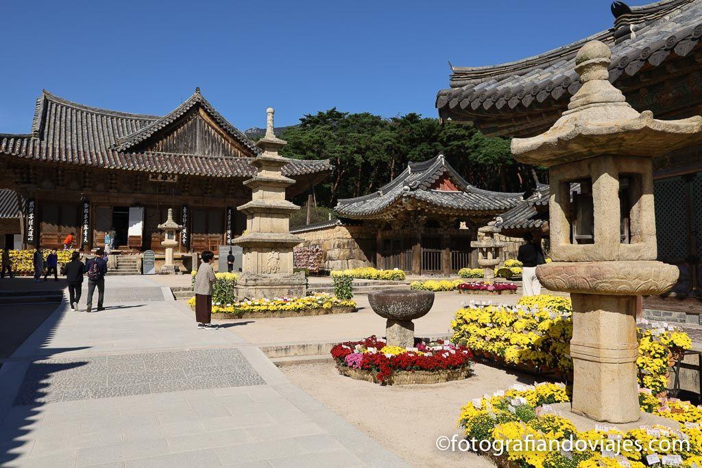 Templo Tongdosa corea del sur