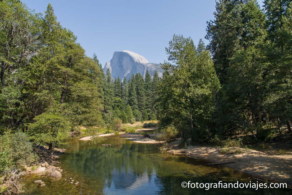 Half Dome en Yosemite parque nacioanal