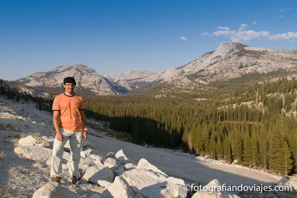 Tenaya Lake en Yosemite national park