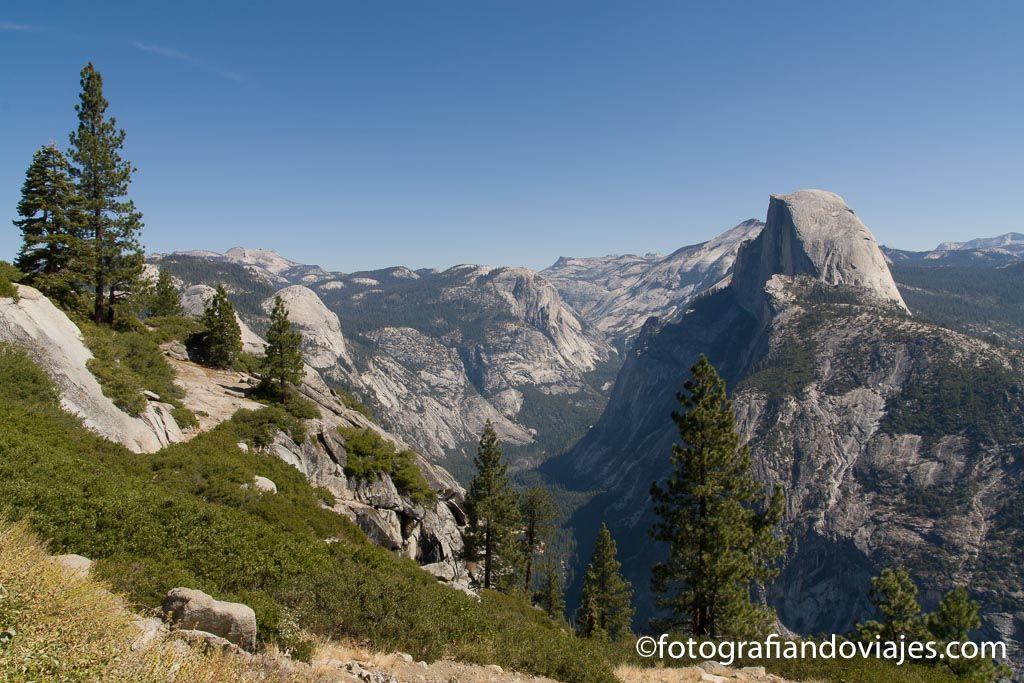 que hacer en Yosemite y el Mirador de Glaciar Point