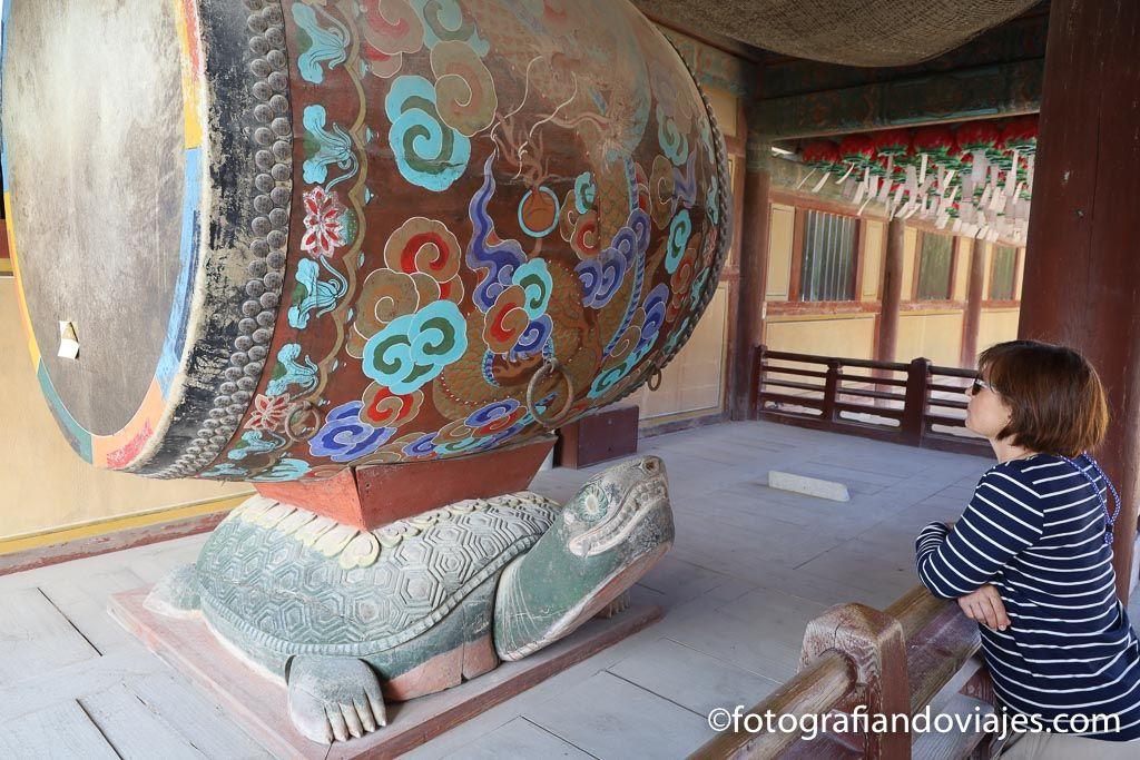 tambor en templo coreano