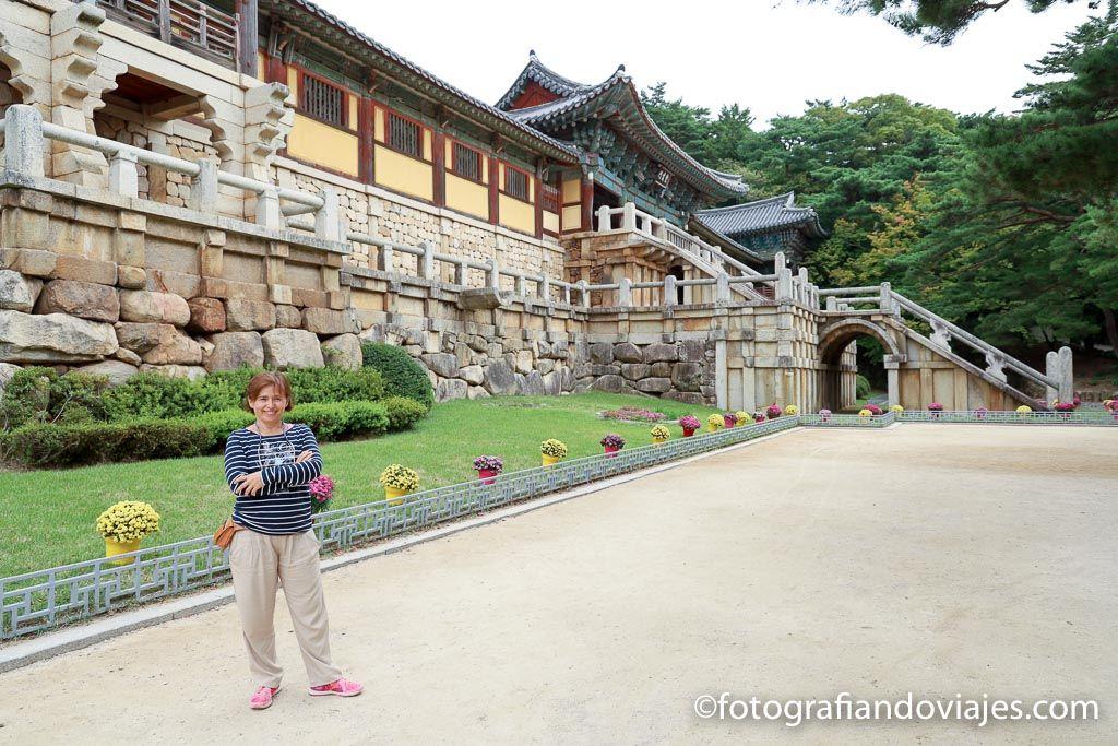 templo Bulguksa Gyeongju corea del sur