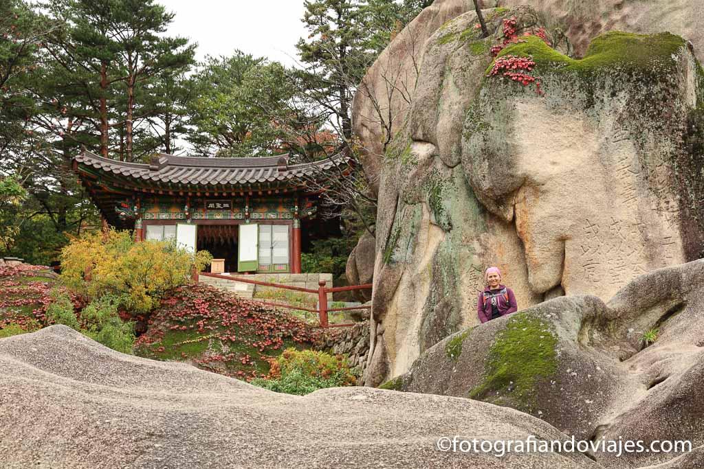 templo en el trekking