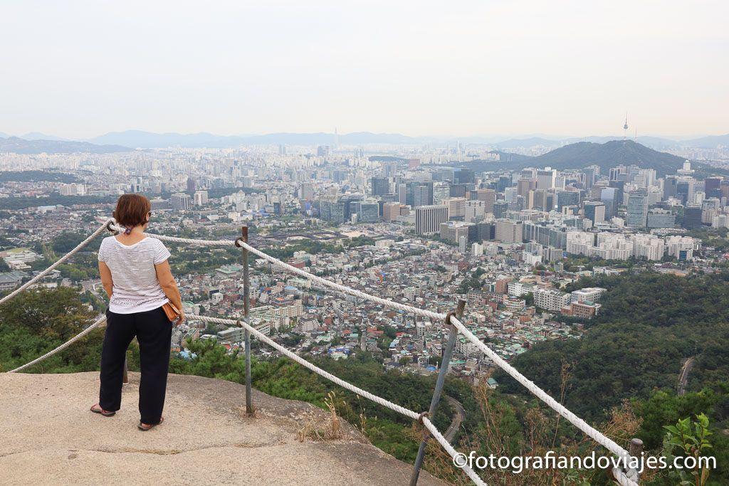 Vista panorámica de Seul